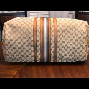 Gucci large duffle bag!